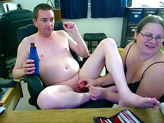 Fucking Baby Dick Hubbys Peehole and Cissy Pussy