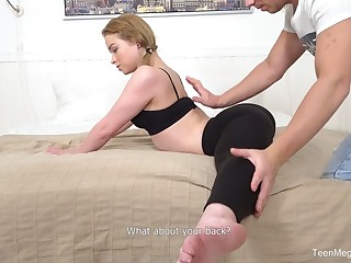 Arrested out the body on that girl and this flexible hoe fucks absurdly