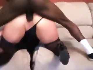 Cuckold - anal bbc long me whilst I squirt