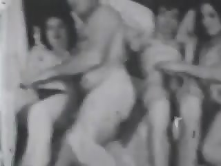 Classic Stags 1960's - vintage retro porn in black and white