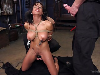 Dreams come true be beneficial to Luna Star after this amazing bondage experience