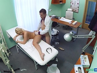 Lilith's shocking hardcore dicking winning doctor's office