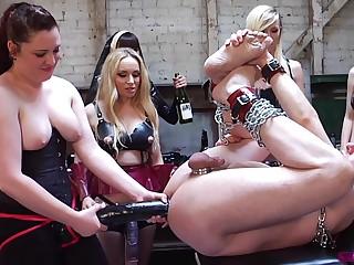 Group kinky fuck is a new experience for horny and hot Dana Dearmond