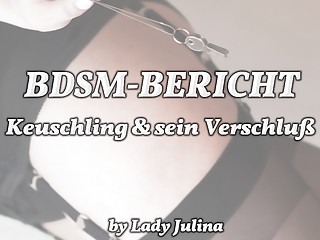 BDSM report: Experiences of be transferred to chastity belt wearer (2)