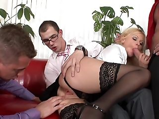 Killer pornographic toast of the town on touching finest assfuck, platinum-blonde intercourse flick