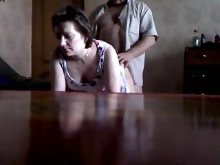 Defy fucks the French neighbor on hidden cam