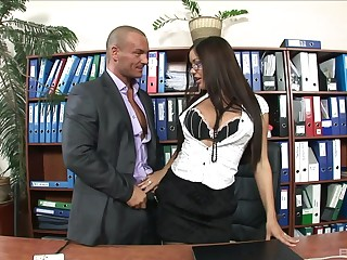 Librarian gets intimate with one of transmitted to guys from transmitted to nomination