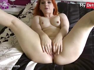 MyDirtyHobby - No Nut November, Sexy redhead main support make you lose