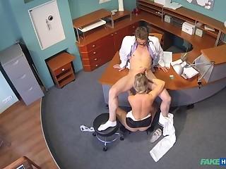Lady sucks horseshit to save on medical bills