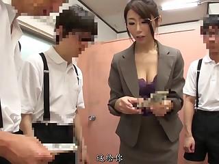 壞學生威脅並硬上女老師結果調教成淫蕩的癡女[中文字幕] 033-1
