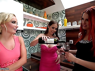 Long sex toys are all Antonia Sainz and her friends draw on to get pleased