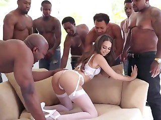 BIG BLACK COCK Group Carnal knowledge Riley Reid