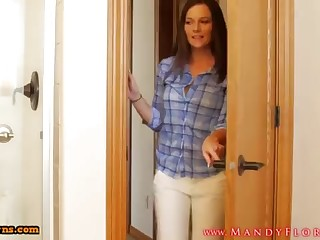 STEPMOMLOVER.COM: mommy training hump nearly the brush sonnie four